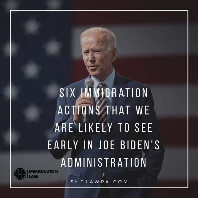 Seis acciones de inmigración que probablemente veremos temprano en la administración de Joe Biden