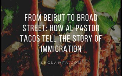 Desde Beirut hasta la Calle Broad: de esta manera los Tacos al Pastor cuentan la historia de la inmigración.