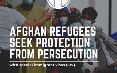 Los refugiados Afganos buscan protección contra la persecución con visas especiales de inmigrante (SIV).