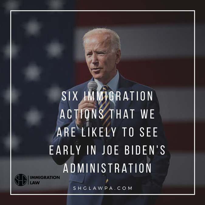 Six immigration actions that we are likely to see early in Joe Biden's administration