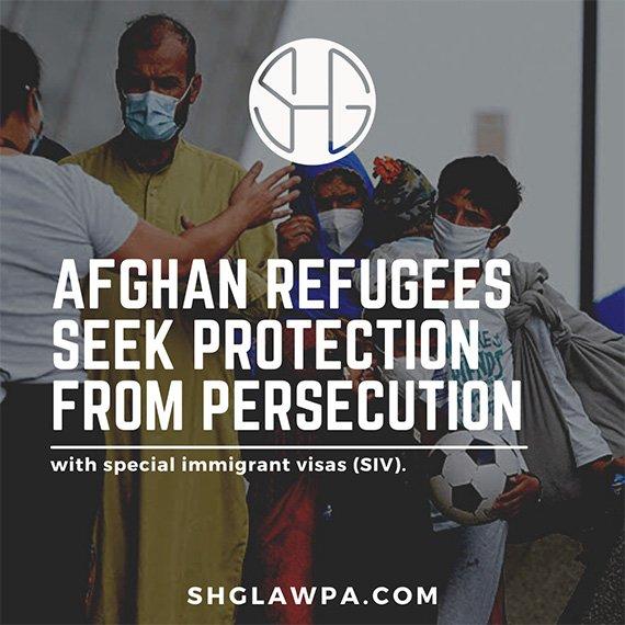 Special immigrant visa Afghans