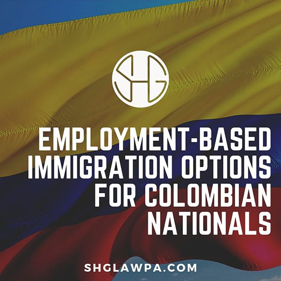 immigration from Colombia to us